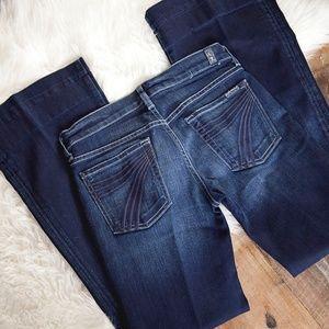 7 Seven For All Mankind Dojo Jeans 27